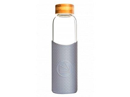 Sklenená fľaša na vodu Neon Kactus - Forever Young 550 ml