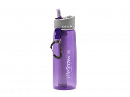 Filtračná fľaša LifeStraw Go 2-Stage Purple 650 ml
