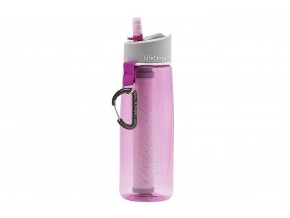 Filtračná fľaša LifeStraw Go 2-Stage Pink 650 ml