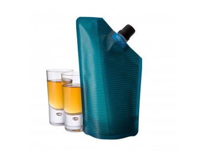 Hydrovak Vapur Incognito Flask Teal 300 ml