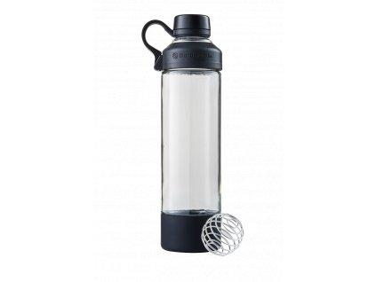 BlenderBottle sklenená fľaša na jógu Black