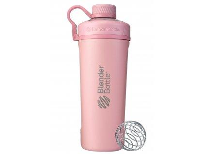 Nerezová termo fľaša BlenderBottle Radian Insulated Stainless Steel Rosé Pink 770 ml