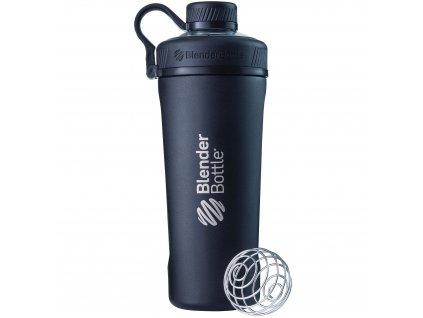 Nerezová termo fľaša BlenderBottle Radian Insulated Stainless Steel Black 770 ml