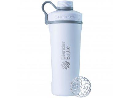 Nerezová termo fľaša BlenderBottle Radian Insulated Stainless Steel White 770 ml