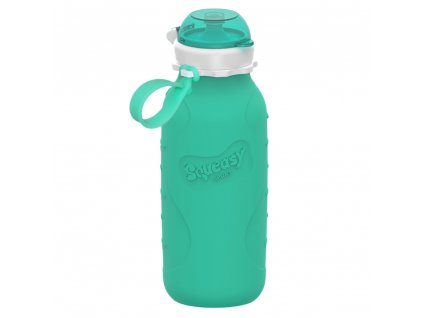 Silikónová fľaša Squeasy Gear aqua