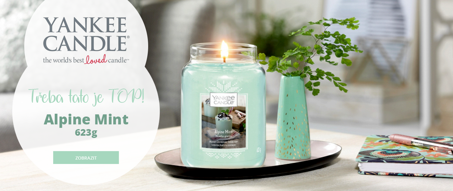 YANKEE CANDLES - Alpine Mint
