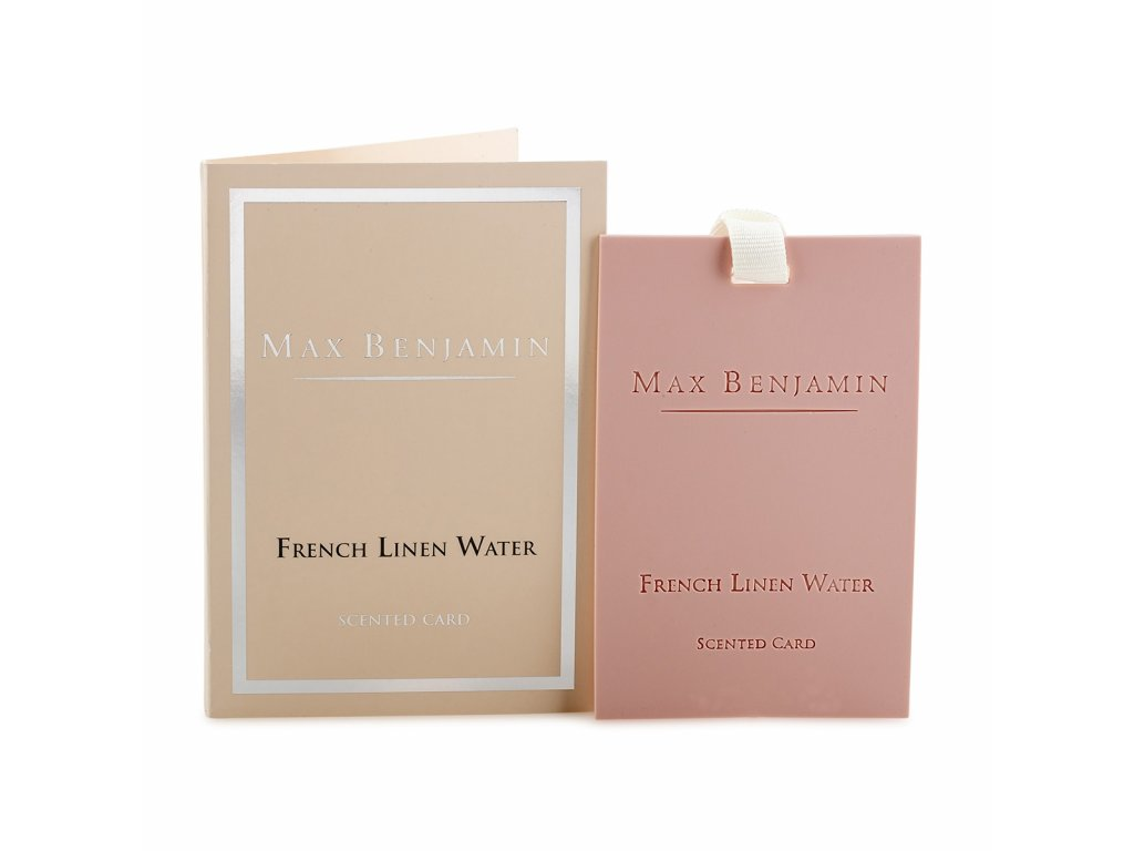 mb card9 classic collection french linen water scented card