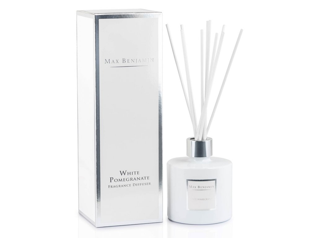 mb d17 white pomegranate diffuser with box