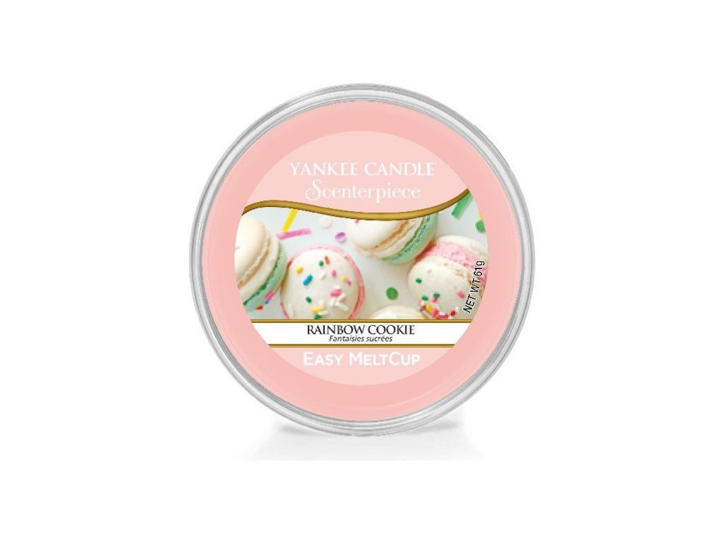 YANKEE CANDLE - Scenterpiece Meltcup Vosk - Rainbow Cookie
