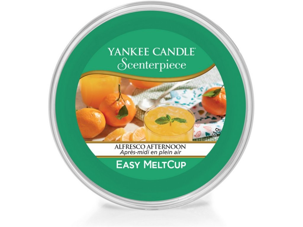YANKEE CANDLE - Scenterpiece Meltcup Vosk - Alfresco Afternoon