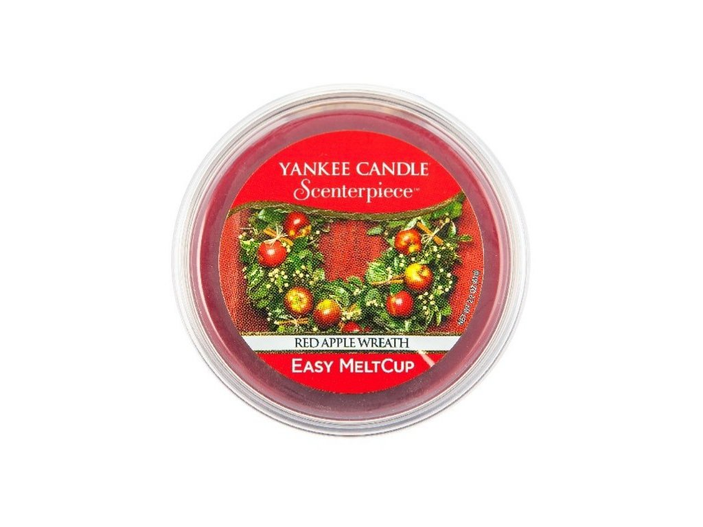 YANKEE CANDLE - Scenterpiece Meltcup Vosk - Red Apple Wreath