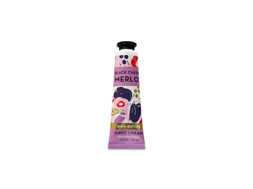 Bath & Body Work - Krém na ruce - Black Cherry Merlot