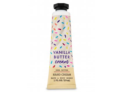 Bath & Body Work - Krém na ruce - Vanilla Butter Cream