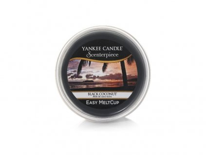 YANKEE CANDLE - Scenterpiece Meltcup Vosk - Black Coconut