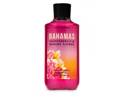 Bath & Body Works - Sprchový gel - Bahamas Passionfruit & Banana Flower