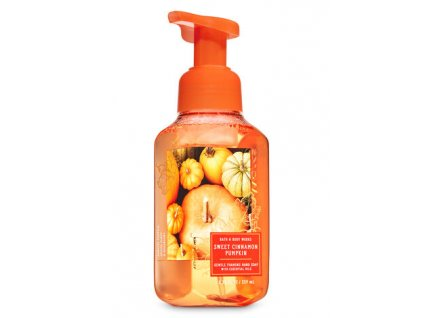 Bath & Body Works - Pěnové Mýdlo - Sweet Cinnamon Pumpkin