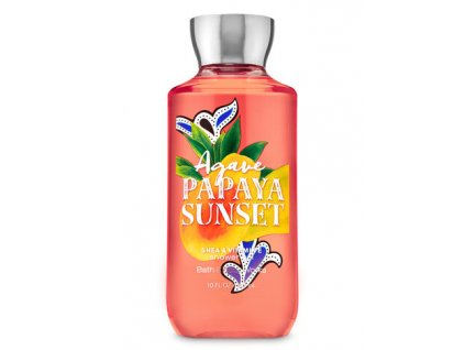 Bath & Body Works - Sprchový gel - Agáve Papaya Sunset