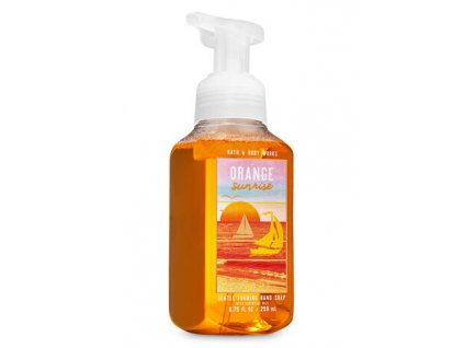 Bath & Body Works - Pěnové Mýdlo - Orange Sunrise