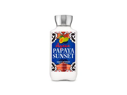 Bath & Body Works - Tělové Mléko - Agave Papaya Sunset