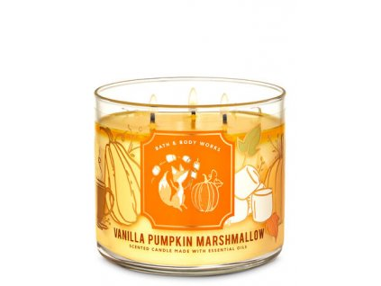 Bath & Body Works - Vanilla Pumpkin Marshmallow