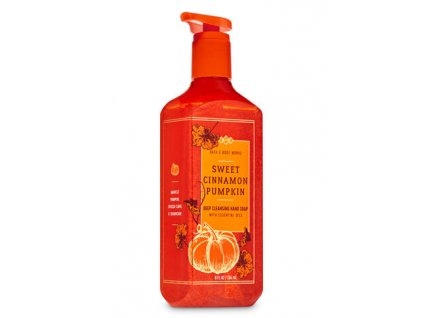Bath & Body Works - Gelové Mýdlo - Sweet Cinnamon Pumpkin