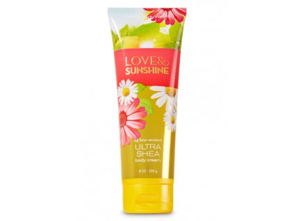 Bath & Body Works - Tělový Krém - Love & Sunshine