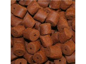 red halibut pellets