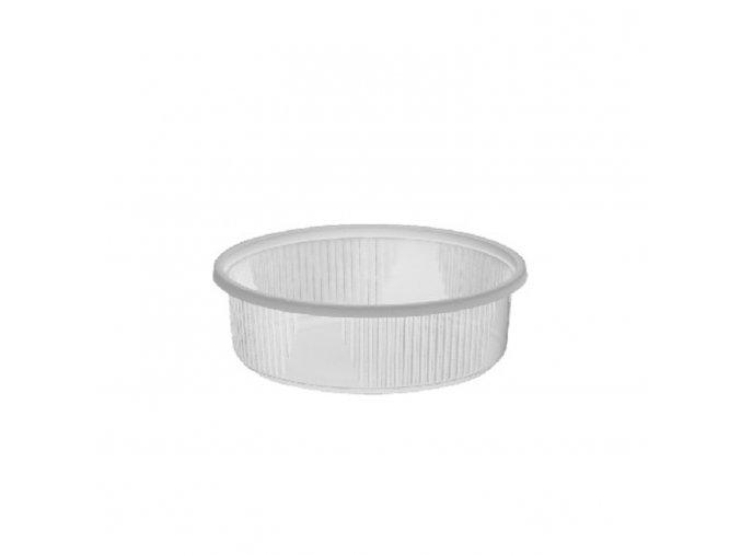 Miska kulatá průhledná 125 ml