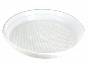Talíř plast 1-dílný 22cm