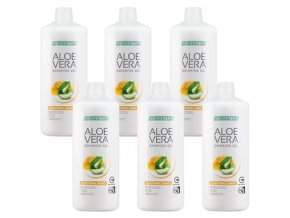 LR LIFETAKT Aloe Vera Drinking Gel Traditional s medem 6 x 1000 ml