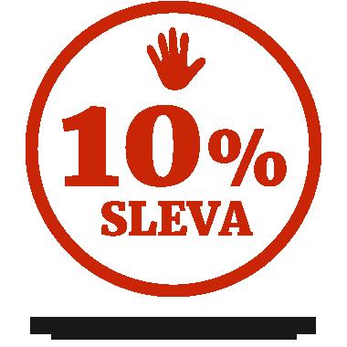 Sleva za registraci 10%