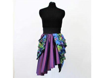 sukně PURPLE FLOWER