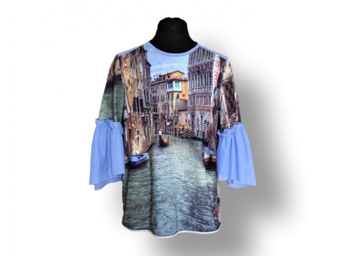 Halenka Benátky s rukávy