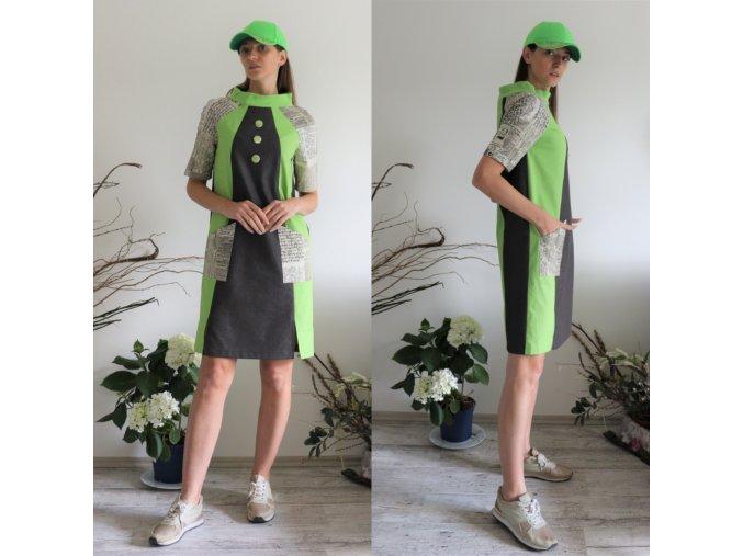 šaty Fitness Lady