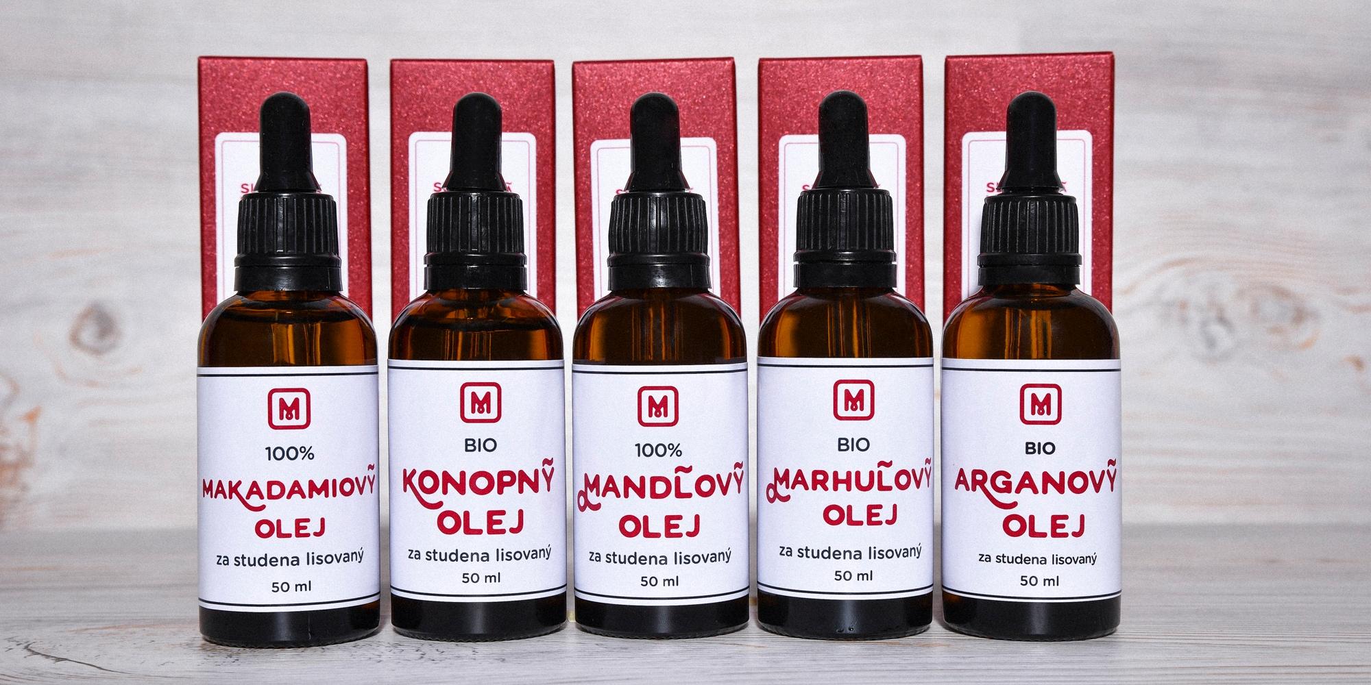 Telové oleje 50 ml