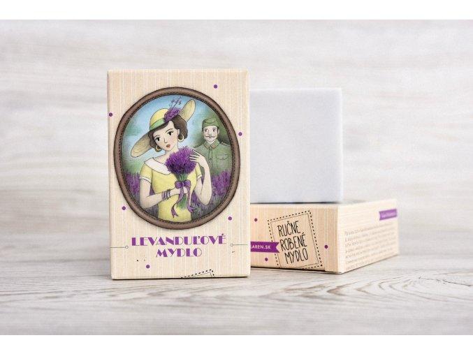levanduľové glycerínové mydlo