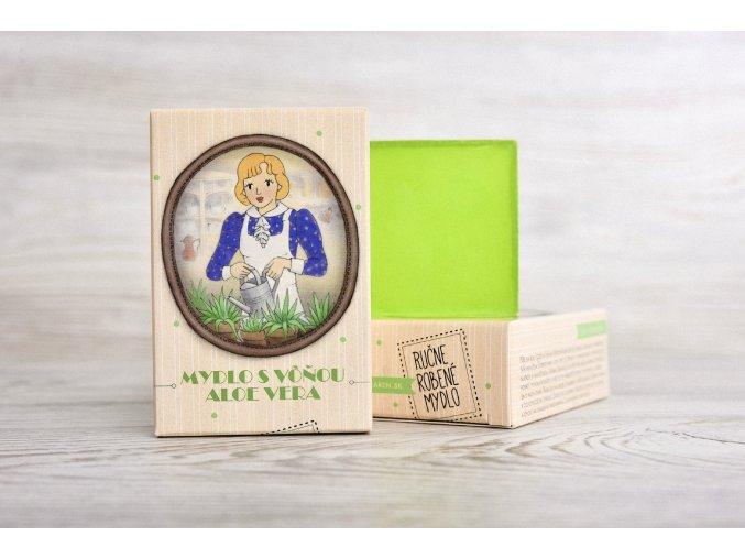 glycerínové mydlo aloe vera