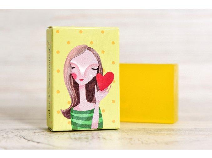 glycerinove mydlo dievcatko zlty melon
