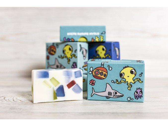 glycerínové mydlo v ilustrovanej krabičke detský motív