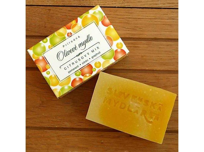 olivové mydlo nechtik