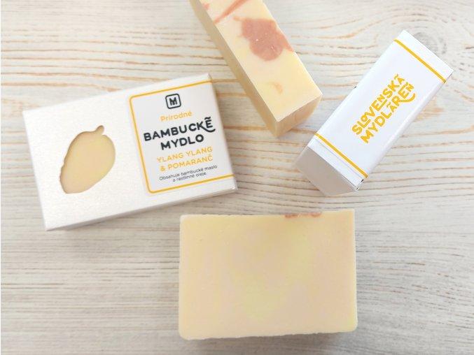bambucke mydlo ylang ylang pomaranc zlta