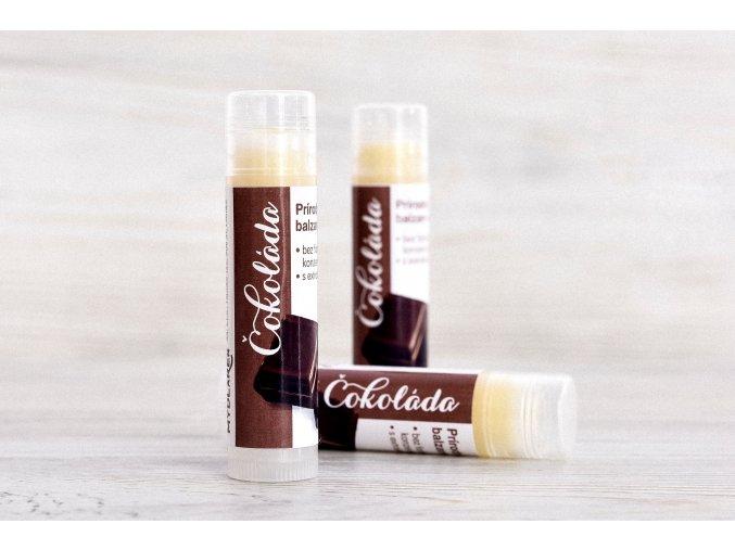 prirodny balzam na pery cokolada vwww