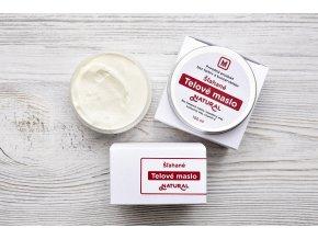šľahané telové maslo Natural