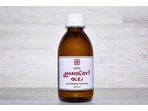 mandlovy olej lisovany za studena 200ml
