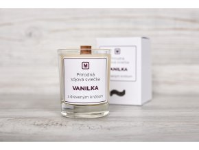 ekologická sójová sviečka Vanilka