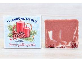 vianocne mydlo jablkovy kolac sviecky 1