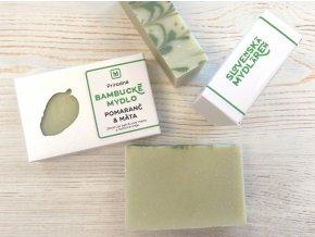 bambucke mydlo pomaranc mata zelene 110g