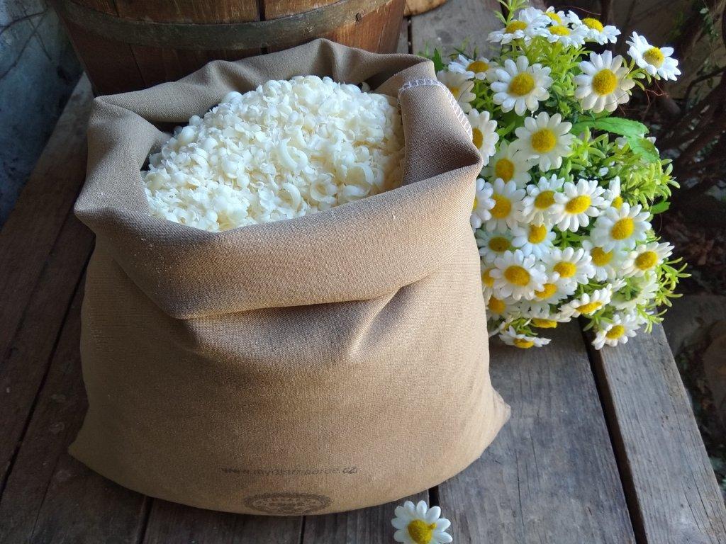 LANOLÍN vločky na praní 1 kg bez parfemace