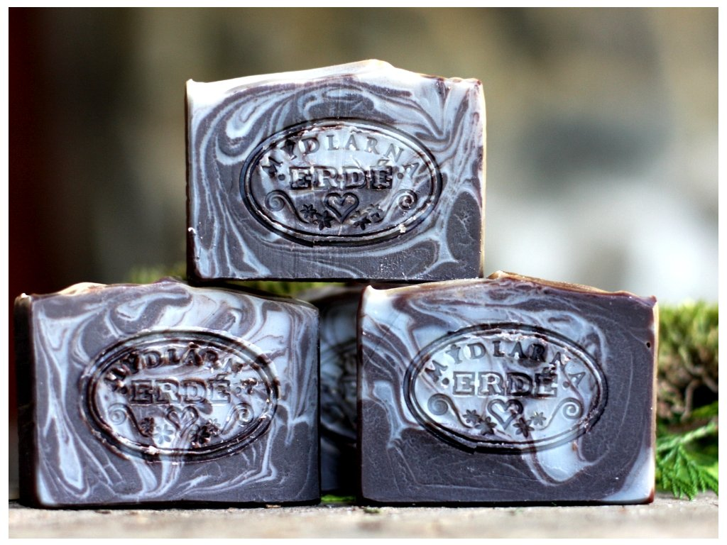 Přírodní mýdlo Čokoládová levandule