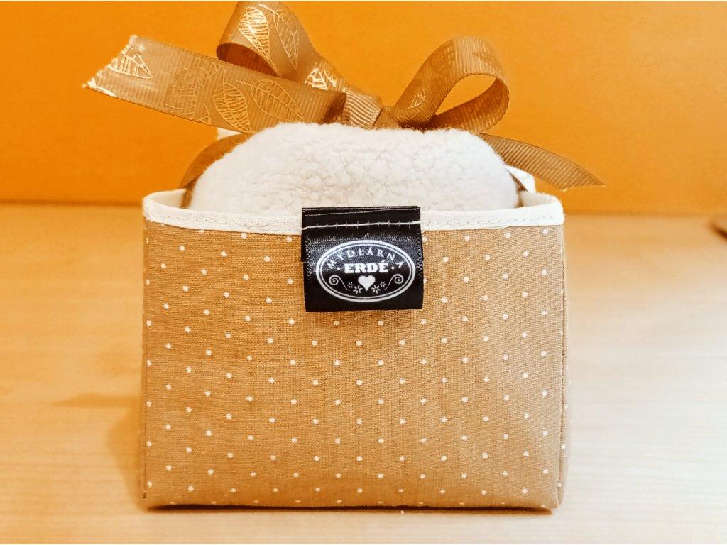 Bio tampony v textilním boxu + dárek